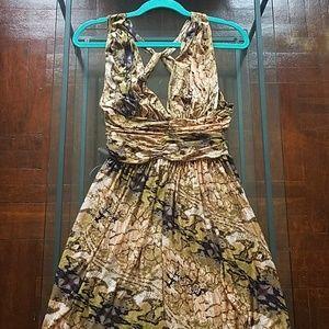 Moda International Halter Dress S/P